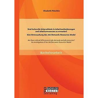 Sind kulturelle Unterschiede in Arbeitsanforderungen und Arbeitsressourcen zu erwarten Eine Untersuchung des Job DemandsResources Model by Ptschke & Elisabeth