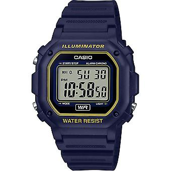 Montre Casio CASIO COLLECTION F-108WH-2A2EF - Montre CASIO COLLECTION R�sine Noir Homme