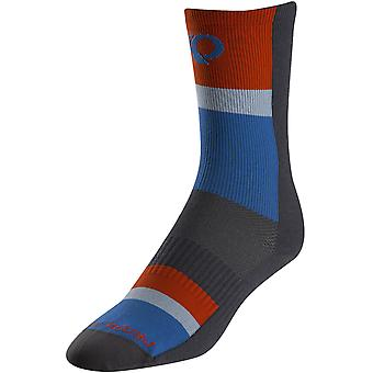 Pearl Izumi Stripe Blue Elite Tall Cycling Socks