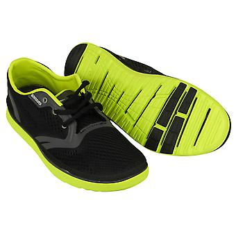 Quiksilver Mens AG47 Amphibian Shoes - Black/Gray/Lime