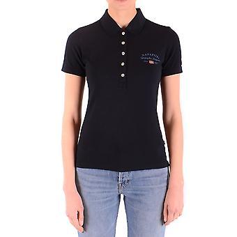 Napapijri Blue Cotton Polo Shirt