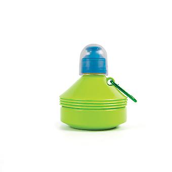 Yellowstone 550ml Folding Drinks Bottle with Carabina 2 Pack