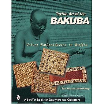 Art textile de la Bakuba: velours broderies en raphia