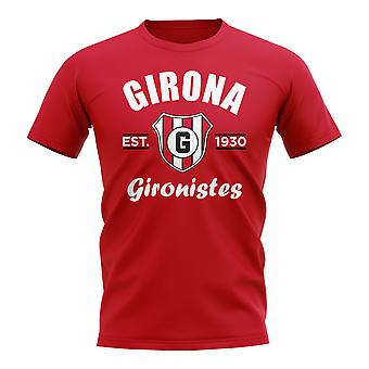 Girona Established Football T-Shirt (Red)