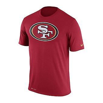 Nike NFL San Francisco 49ers Legend logo Essential 3 Dri-Fit T-shirt