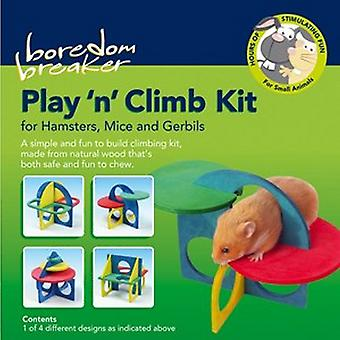 Rosewood Boredom Breaker Play And Climb Hamster Kit