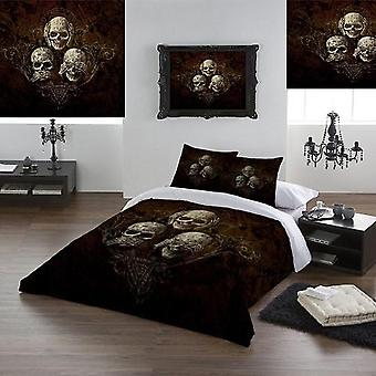 Alchemy - no evil - duvet and pillows cover set / uk double / us twin