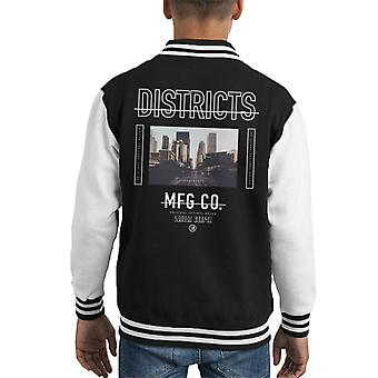 London Banter Districts Kid's Varsity Jacket