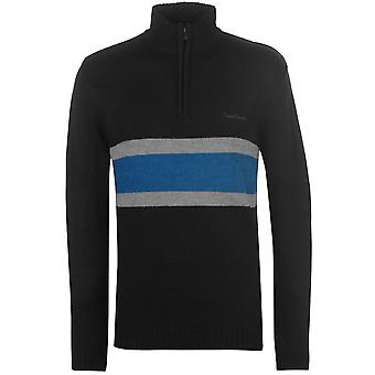 Pierre Cardin Mens Quarter a righe a righe Pullover Maglione Top Camicetta Jumper