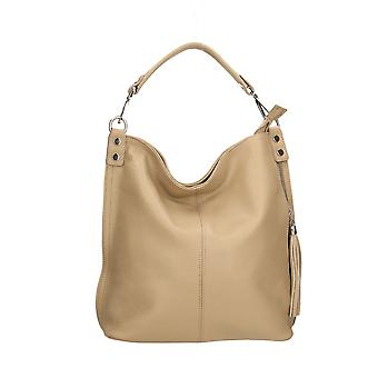 Leather shoulder bag Made in Italy AR34012