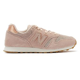 New Balance 373 Damen Rosa Wildleder Trainer