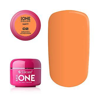 Base one-Matt-Orange lemonade 5 g UV-gel