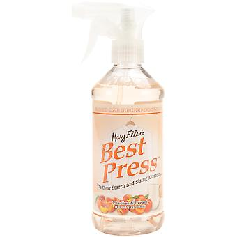 Mary Ellen's Best Press Clear Starch Alternative 16 Ounces Peaches & Cream 600Bp 130
