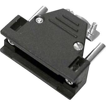 D-SUB housing Number of pins: 9 Plastic 180 ° Black MH Connectors 2801-0102-11-8 1 pc(s)
