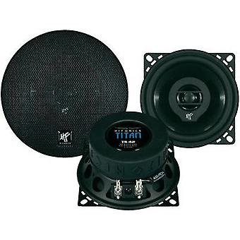 2 way coaxial flush mount speaker kit 120 W Hifonics Titan