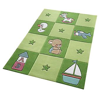 Rugs -Smart Kids - Newborn Green 3986-05