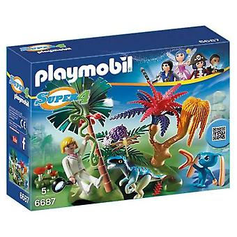 Playmobil 6687 Lost Island With Alien
