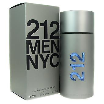212 Carolina Herrera Männer 3,4 Unzen 100 ml EDT Spray