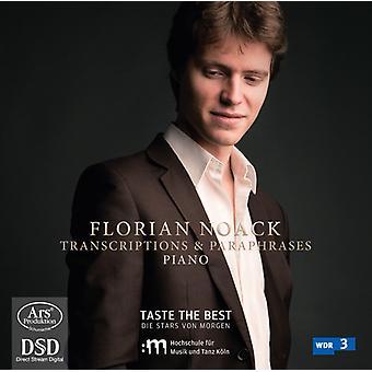 Tchaikovsky - importación de Estados Unidos Florian Noack juega Trancriptions y paráfrasis [SACD]