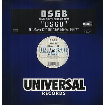Ned Syd Georgien drenge - Dsgb [Vinyl] USA importerer