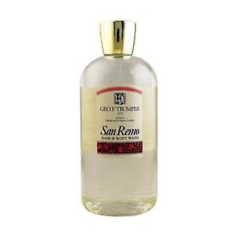 Geo F Trumper San Remo Hair & Body Wash 500ml