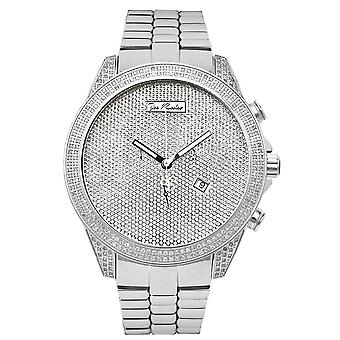 Joe Rodeo diamond men's watch - EMPIRE silver 2.25 ctw