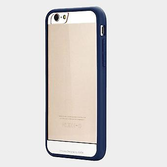 Oprindelige rock frontplade kofanger Blau for Apple iPhone 6 plus 5,5
