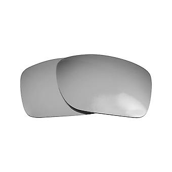 New SEEK Polarized Replacement Lenses for Oakley TURBINE Silver Mirror