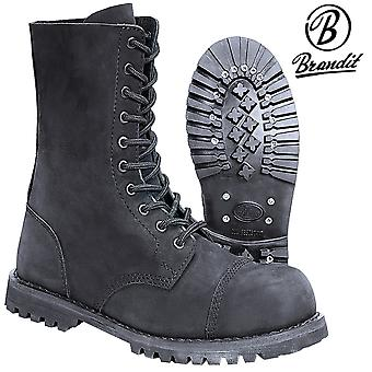 Brandit gentlemen Phantom Boots 10 Eye nubuck