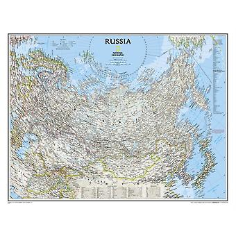 Russia Classic tubed : Wall Maps Countries & Regions: NG.P622091 (Reference - Countries & Regions) (Map) by National Geographic Maps
