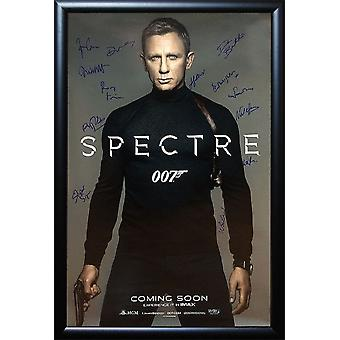 James Bond:007 Spectre - Signed Movie Poster