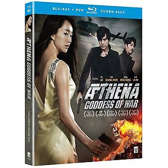 Athena: Gudinde for krig film [BLU-RAY] USA import