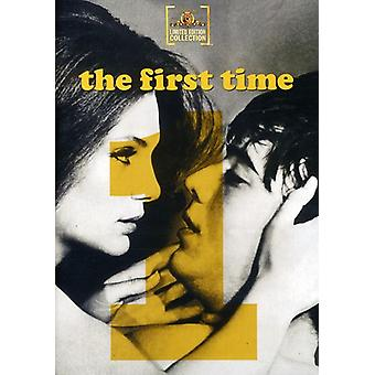 First Time [DVD] USA import