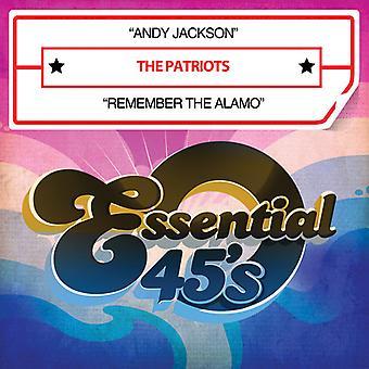 Patriots - Andy Jackson/Remember the Alamo [CD] USA import
