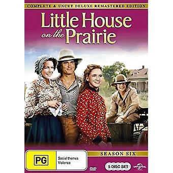 La casita de la pradera: importación de USA de la temporada 6 [DVD]
