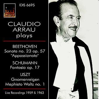 Claudio Arrau - Sonate 23/Fantaisie Op 17/Mephisto [CD] USA import