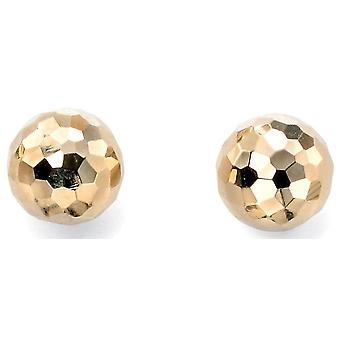9 ct Gold Earring Facet