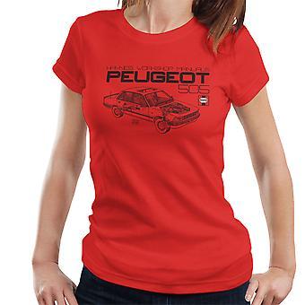 Haynes Workshop Manual 0762 Peugeot 505 Black Women's T-Shirt