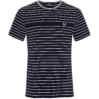 Fred Perry Pique paski T-Shirt