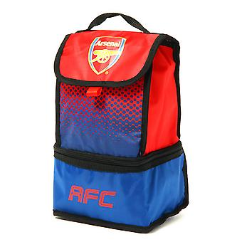 Arsenal FC Official Fade Insulated Football Crest Lunch Bag
