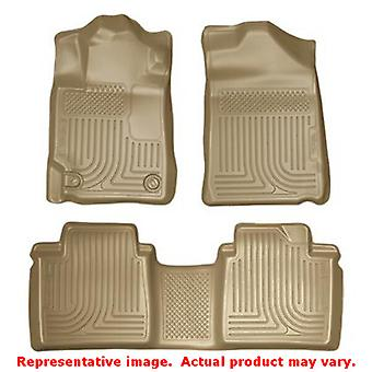 Husky Liners 98513 Tan WeatherBeater Front & 2nd sæde F passer: TOYOTA 2007-2011
