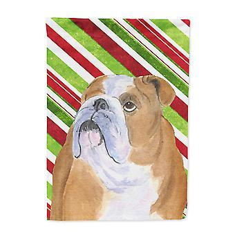 Carolines Schätze SS4560-FLAG-PARENT Bulldogge englische Zuckerstange Urlaub Chris