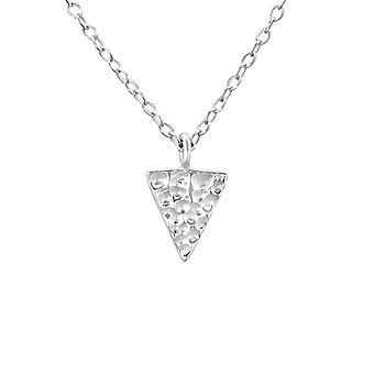 Trekant - 925 Sterling Sølv Plain halskæder - W19951X