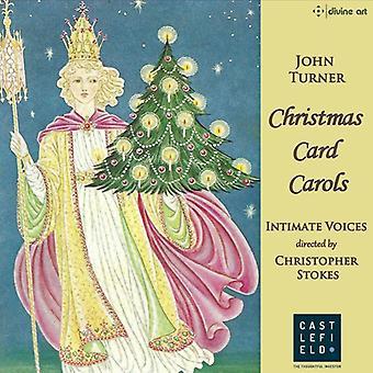 Intime stemmer - julekort julesange [CD] USA import