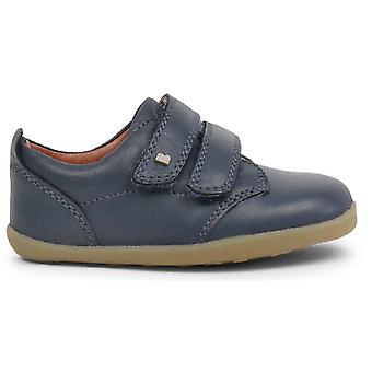 Bobux Step Up Boys Port Shoes Navy