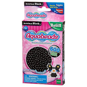 Aquabeads Solid Bead Pack - schwarz
