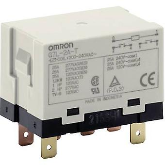 Plug-in relay 240 V AC 25 A 2 makers Omron G7L-2A-