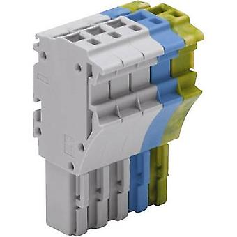 WAGO 2022-105/000-038 1 Conductor Clip Connector Series 2022 0.25 - 2.5 mm² Green-yellow, Blue, Grey