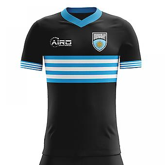 2018-2019 Uruguay weg Concept voetbalshirt