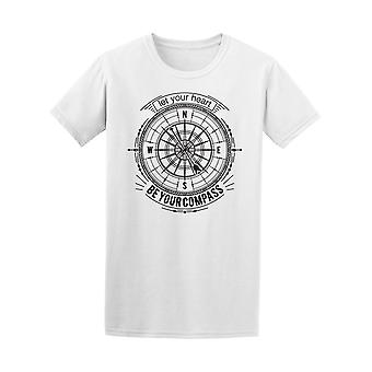 Let Your Heart Be Your Compass Tee Men's -Image by Shutterstock